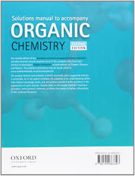 solutions manual to accompany organic chemistry amazon co uk