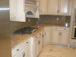 Kitchen Backsplash Ideas With Santa Cecilia Granite Light Granite Kitchen Amazing Deluxe Home Design