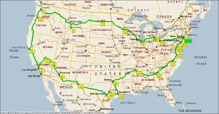 road maps of the united states this map shows the ultimate us road trip mental floss 11
