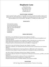 auditor resume exles 1 auditor resume templates try them now myperfectresume