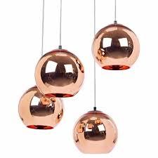 new tom dixon style copper mirror ball ceiling light pendant lamp