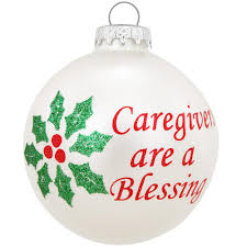 caregivers are a blessing ornament occupations u0026 hobbies