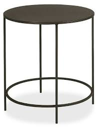 room and board side table room board slim round table 25 furniture pinterest room