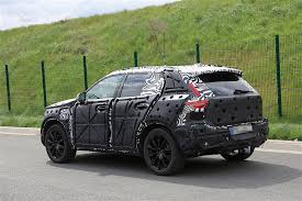 2018 volvo xc40 prototype spied again it is still covered up