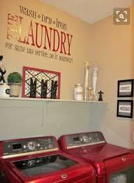 Decorate Laundry Room The Mundane Thrifty Decor Thrifty Decor And Dryer