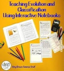 evolution lesson plan activity for middle lesson plans