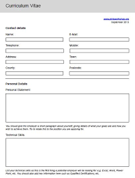 cv template form interactive cv template skills workshop ideas