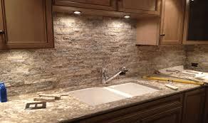 stone backsplash for kitchen stacked stone backsplash fair stone kitchen backsplash home design