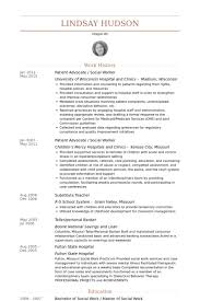 Case Worker Resume Sample by Social Work Resume Samples Visualcv Resume Samples Database