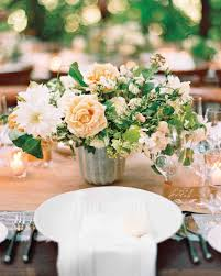 flower centerpieces 22 totally chic vintage centerpieces martha stewart weddings