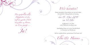 hochzeit einladung textbeispiele hochzeitseinladung rosige zeiten lila