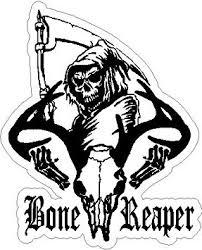 buy 8 u0026quot reap the bone horizontal with antlers grim reaper