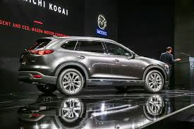 new mazda 5 2016 2016 mazda cx 9 hits l a show with fresh design new turbo engine