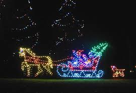 winter sleigh winter sled lights