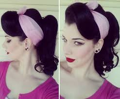 pinup clip in ponytail with bangs the best 30 pin up hairstyles for glamorous retro girls