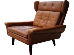 Leather Wingback Chair Furniture Impressive Danish Leather Wingback Chairs Red Modern