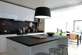 mod鑞e de cuisine am駻icaine salon de jardin moderne 4 cuisine ouverte sur s233jour c0137 salon