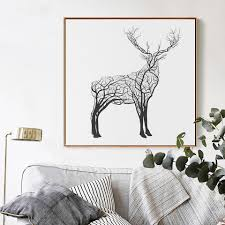 compare prices on deer art prints online shopping buy low price