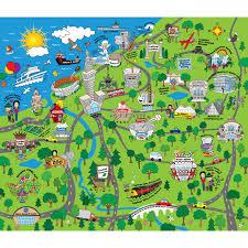 map of cleveland broken box designs illustration design beyond