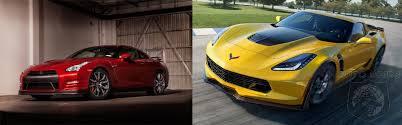nissan gtr vs corvette z06 car wars bargain supercar battle chevrolet corvette z06 vs