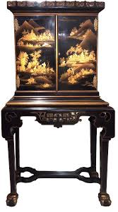 anglo japanese 19th century cabinet in european lacquer ref 50754
