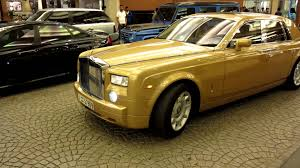 roll royce brown gold rolls royce phantom youtube