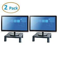 halter height adjustable monitor stand printer desk shelf riser