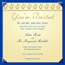 invitation card for college farewell party wedding invitation sample