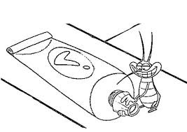 joey toothpaste coloring pages hellokids