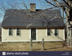 pearson house cape cod style single storey colonial house