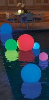 Floating Pool Light Floating Pool Lights For Inground Pools Pool Ideas Pinterest