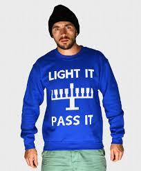 light up hanukkah sweater ugly hanukkah sweater light it pass it get lit funny hanukkah