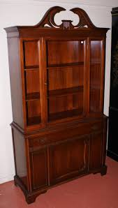 mahogany china cabinet furniture nice mahogany china cabinet for sale antiques com classifieds