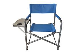 Folding Directors Chair World Famous Sports Director U0027s Chair With Folding Side Table Big