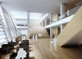 Library Interior Design Gallery Of Gmp Selected To Design New Library In Suzhou 5