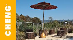 Umbrella Stand Patio Make A Concrete Umbrella Stand From An Ikea L Shade