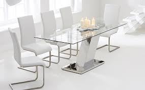 glass dining room sets glass dining table sets great furniture trading company the