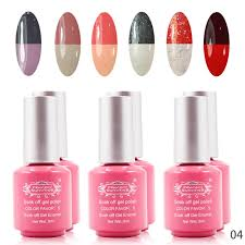 perfect summer soak off temperature change color gel nail polish