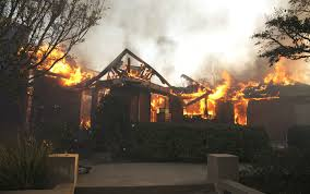Wildfire California Video by Wildfires Put 65 Billion Of California Homes At Risk Wsj
