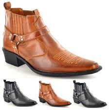 alfa img showing u003e pointy toe boots for men