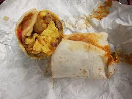 Sonic Breakfast Toaster Calories Sonic Bacon Breakfast Burrito Calories