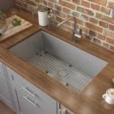 home depot kitchen sink vanity ruvati undermount stainless steel 30 in 16 single