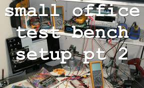 acf 002 office electronic test bench part 2 lab tour and future