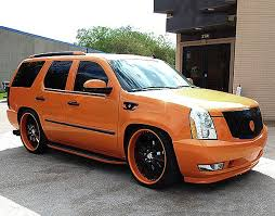 cadillac escalade performance upgrades chromed caddilac اسكاليد معدل chrome carbon cadillac escalade