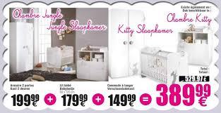 cora promotion armoire 2 portes kast 2 deuren lit bébé babybedje
