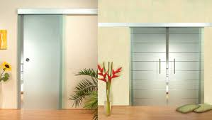 Modern Glass Interior Doors Large Frosted Glass Interior Doors Lustwithalaugh Design