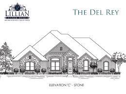 New Home Floor Plans The Del Ray Bryson Manor New Home Floor Plan Ovilla Texas Clone