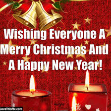 wishing everyone a merry and a happy new year pictures