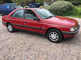 peugeot 405 grdt 1905cc turbo diesel 5 speed manual 4 door saloon