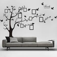 family tree for removable wall decals inspirations living room